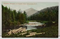 Adirondack NY Whiteface Mountain And Ausable River Postcard B3