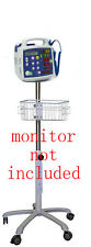 Rolling Roll  stand for CSI Criticare 506DN3/506DNX  monitor new (small wheel )