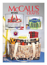 McCall's Sewing Pattern M7265 Carry Bag Project Totes Craft Shopping Bag