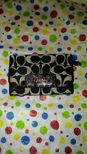 Coach Wallet F46157 Ashley Signature Canvas White/Black w/ tags MSRP $188