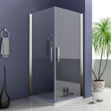 Duschkabine Eckeinstieg Duschabtrennung Schwingtür Duschtür 6mm ESG Nano-Glas M9