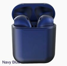 New listing  New Stereo Wireless Bluetooth Earpods with Charging Case For iPhone Android