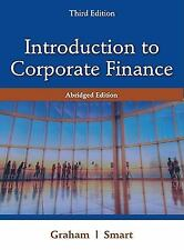 Introduction to Corporate Finance: What Companies Do, Abridged Edition 3rd ed