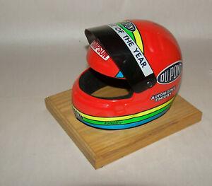 Original Simpson DuPont 1993 Rookie / Year Jeff Gordon Signed Mini Helmet NASCAR