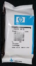 HP 75 Tri Color Cartridge Print Printer Exp July 2010 Tri-Color New No Box