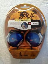 Labtec Curve-465 Over-the-Ear Headphones - New / Sealed