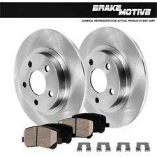 For 2014 2015 2016 Mazda 3 Rear Brake Disc Rotors And Ceramic Pads
