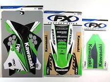 Factory Effex EVO 14 Graphics Fenders Trim Forks KXF 450 KX450F KXF450 09 10 11