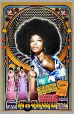 """Diana Ross & the Supremes -11x17"""" poster - signed by artist - vivid-colors"""