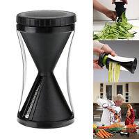 1xSlicer Vegetable Grater Cutter Kitchen Fruit Spiral Peeler Twister Chopper Kit