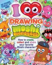 I Love Drawing Moshi Monsters (LOVE TO DRAW)-ExLibrary
