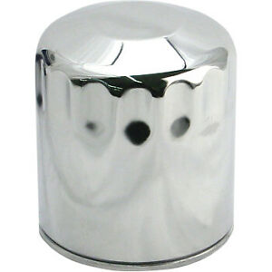 S&S Cycle Oil Filter Chrome 31-4102A