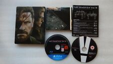 Metal Gear Solid V The Phantom Pain PS4 Steelbook Collectors Edition PS4.