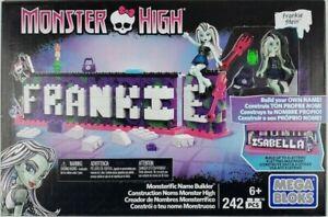 MEGA Bloks Monster High Monsterific Name Builder 242 pcs. Discontinued