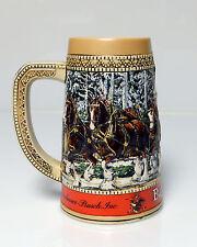"""Budweiser Mug Stein Ceramarte Brazil Limited Edition  """"C"""" Series"""
