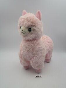 "Alpaca B2708 Alpacasso Pink Remote Phone Stand 7"" Amuse Plush Toy Doll Japan"