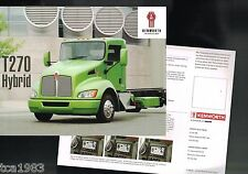 2007?2008 Kenworth T270 Hybrid Truck Brochure / Flyer: Class 6, T-270, 25000 Gvw