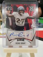 2021 LEAF DRAFT FOOTBALL RICHIE GRANT RC AUTO #BA-RG1 UCF
