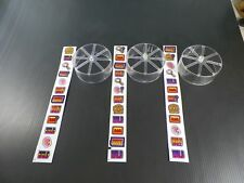 Who Dunnit Pinball Machine Slot Reels with Decal Set!
