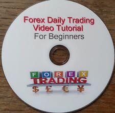 Forex Diario Comercio tutorial en vídeo de DVD para Principiantes