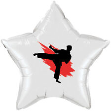 Karate / Martial Arts Sports Fan Party Supplies STAR MYLAR BALLOON DECORATION