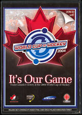 HOCKEY TEAM CANADA VICTORY 2004 WORLD CUP 2DVD COMPLETE FINAL GAME + DOCUMENTARY