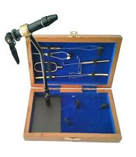 Standard Fly Tying Tool Kit With Vise, Tools, and Pedestal Base