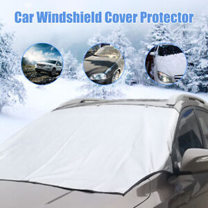 Car Windshield Cover Sun Shade Protector Winter Anti Snow Ice Rain Dust Guard US