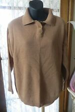VINTAGE ~ DAMART ~ Thermolactyl *  Caramel JUMPER * Size 16 * REDUCED !!