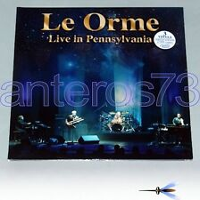 "LE ORME ""LIVE IN PENNSYLVANIA"" 3LP LIMITED ITALIAN PROG"