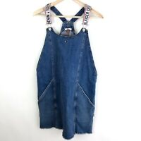 Tommy Hilfiger Women Jumper Overall Dress Pinafore Size Large New 90s Retro $99