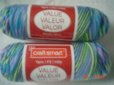 New listing Free Shipping 3 Skeins of Craft Smart Ombre Yarn in Giverny