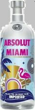 Absolut Vodka Miami 750ml City Limited Edition full and sealed