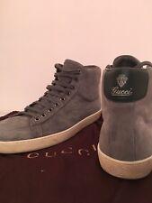 Gucci High Top Sneaker Wildleder Schuhe - 43,5 (9,5) - neuwertig