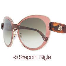 Balenciaga Oval Sunglasses BA2 72F Rose/Gold/Havana BA0002