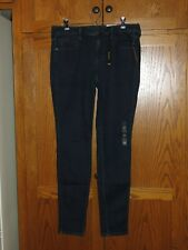 NEW a.n.a Super Stretch Skinny Mid Rise Dark Blue JEGGING - Women's Size 29/8