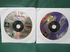 LOT OF 2: Beyblade: Let It Rip/ Moto Racer 2 (PlayStation 1 PS1) *Discs Only*