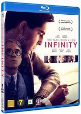 The Man Who Knew Infinity Blu Ray (Region B)