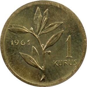 TURKEY - KURUS - 1961 - UNC