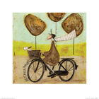 Sam Toft Best Face Forward Art Print 16 x 16 Inches Officially Licensed