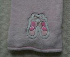 Baby Gear Ballet Shoes Blanket Pink Dance Slippers Plush Security Lovey Girl