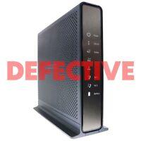 DEFECTIVE NetGear Nighthawk AC1900 Cable Modem Wi-Fi Router Combo (C7100V)