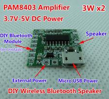 PAM8403 DC 5V Mini Class D 2*3W USB Power Amplifier Board DIY Bluetooth Speaker