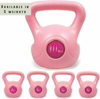 Phoenix Fitness Pink Kettle Bells For Home & Gym Workout - 2KG,4KG,6KG,8KG,10KG