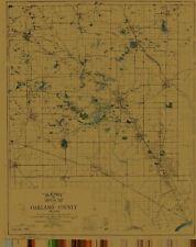 Oakland County, Michigan Map - 1920