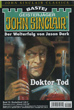 JOHN SINCLAIR CLASSICS Nr. 19 - Doktor Tod - Jason Dark - NEU
