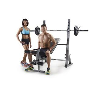 NEW Weider XR 10.1 Olympic Weight Bench & Leg Developer & Storage | CAP Rouge