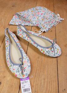 Liberty French Sole Classic Ballet Betsy Liberty Print Shoes EU 39 UK 6 RRP £80