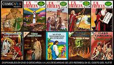 LA BIBLIA EN HISTORIETAS  = 40 COMICS DIGITALES