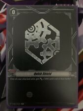 Cardfight!! Vanguard Quick Shield (Gear Chronicle) SP NM